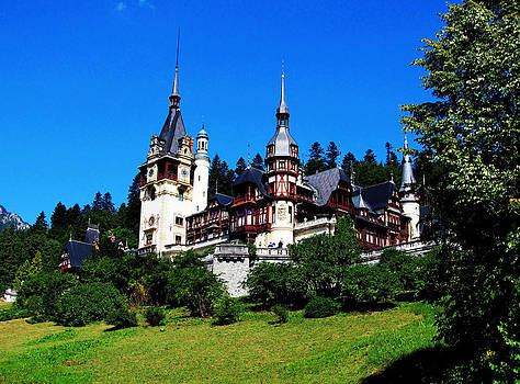 Peles Palace by Bogdan Petrila