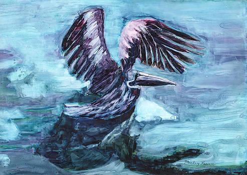 Pelican Landing by Mickey Krause