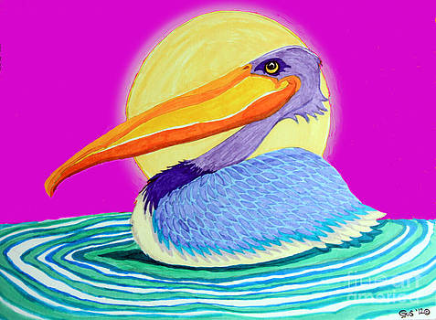 Nick Gustafson - Pelican on the Water 2