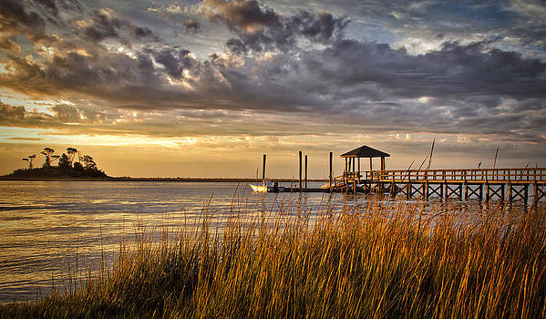 Pelican Point Sunrise Special by Phil Mancuso