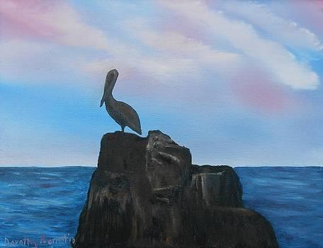Pelican Rock - Cabo by Dorothy Merritt