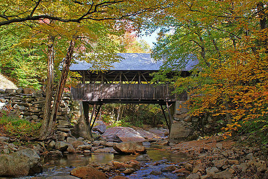 Pemigewasset River Bridge by Kristen Mohr