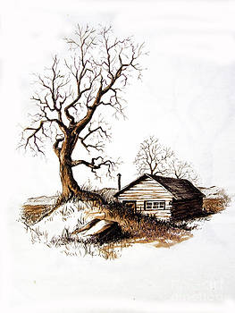 Pen and Ink 1 by Carol Hart