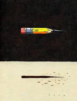 Pencil by Kazu Nitta