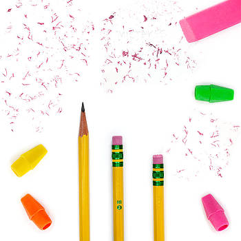 Jo Ann Snover - Pencils and erasers