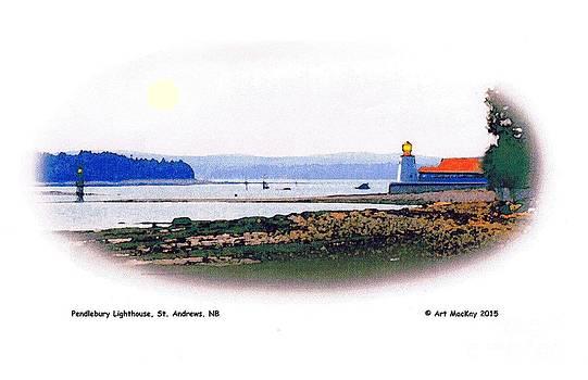 Art  MacKay - Pendlebury Light at St. andrews Harbour