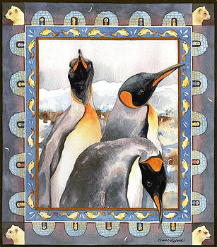 Anne Gifford - Penguin Family Portrait
