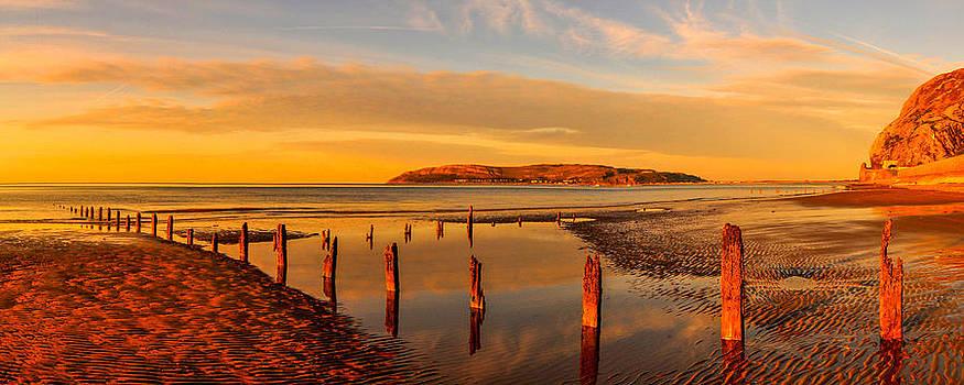 Penmaenmawr Beach by Regie Marshall