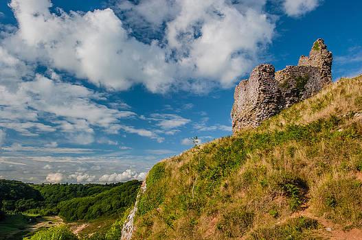 David Ross - Pennard Castle Gower Peninsula
