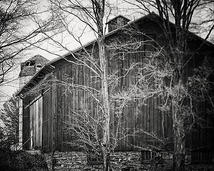 Lisa Russo - Pennsylvania Barn in Black and White