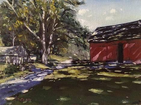 Pennsylvania Farm by Victor SOTO