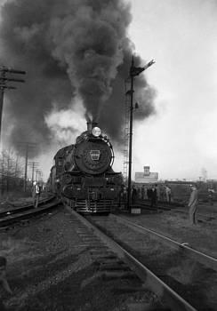 Henri Bersoux - Pennsylvania Locomotive