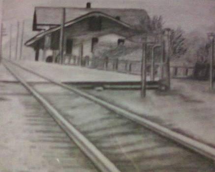 Thomasina Durkay - Pennsylvania Railroad station
