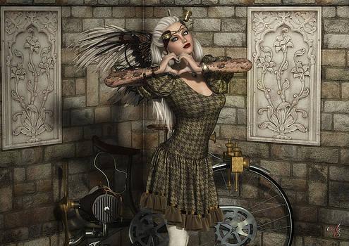 Penny Farthing by Rachel Dudley