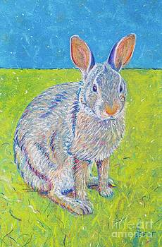 Penny the Rabbit at Snickerhaus Garden II by Christine Belt
