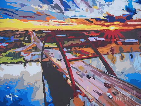 Pennybacker Sunset by Kelly Hartman