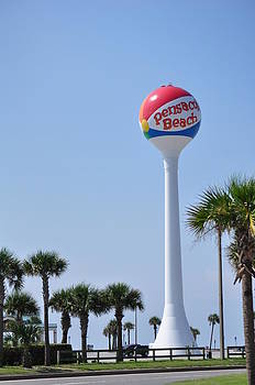 Pensacola Beach Ball by Vonda Barnett