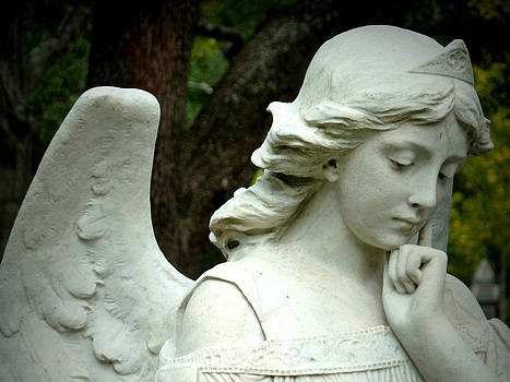 Pensive Angel by Gia Marie Houck