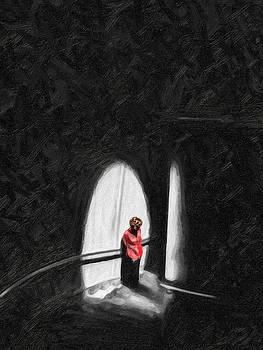 Pensive by Cary Shapiro