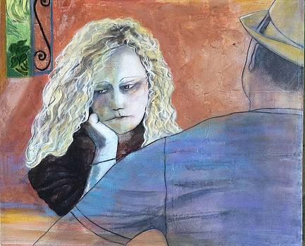 Pensive Moment by Elizabeth  Bogard