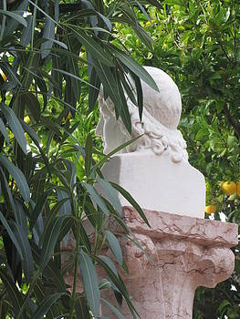 Pensive Statue by Lisa Lieberman