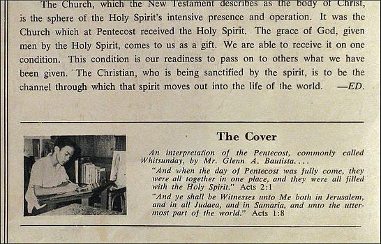 Glenn Bautista - Pentecost by Glenn 1965