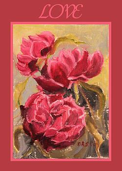 Ruth Soller - Peonies Card