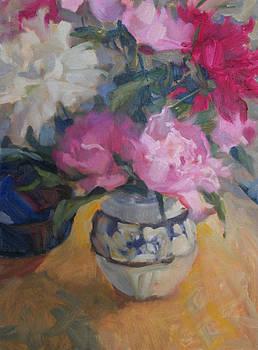 Peonies by Margaret Aycock