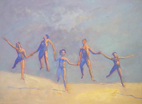 SOLD People Love to Move by Irena  Jablonski