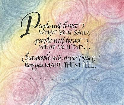 People Will Forget by Sally Penley