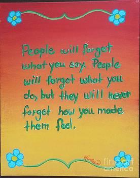 Peoples' Memory by Karleen Kareem