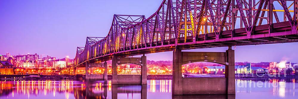 Paul Velgos - Peoria Illinois Bridge Panorama Photo