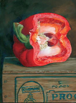 Pepper Tonsils by Marguerite Chadwick-Juner