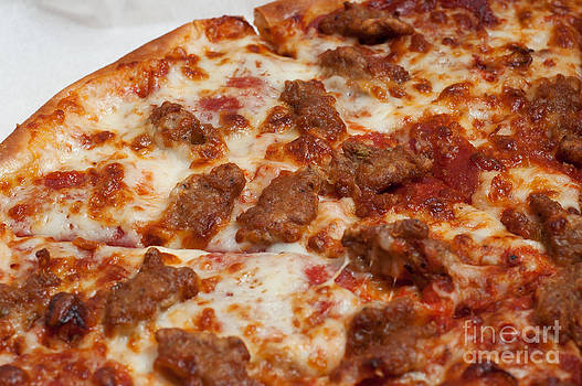Andee Design - Pepperoni And Italian Sausage Pizza