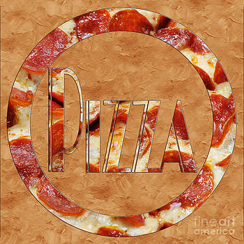 Andee Design - Pepperoni Pizza Typography 3