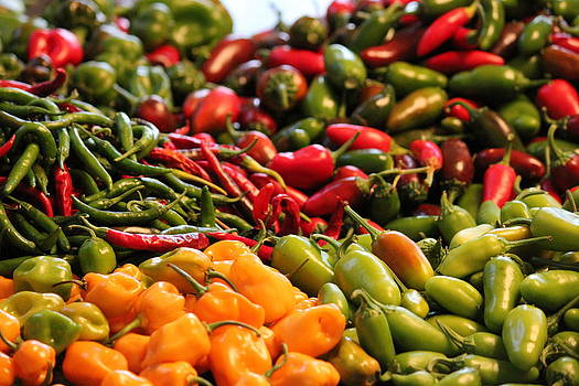 Peppers by Charlotte Craig