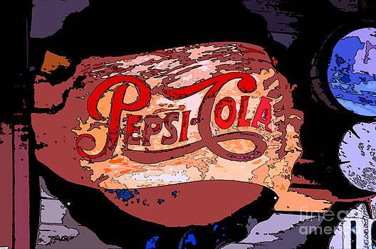 Pepsi Sign  by Juls Adams