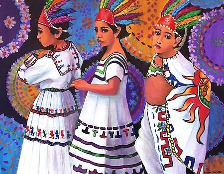Pequenos Guerreros Aztecas by Susan Santiago