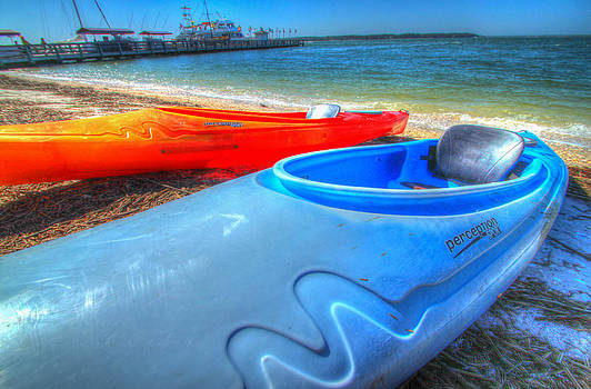 Perception Kayak by Donna Vasquez