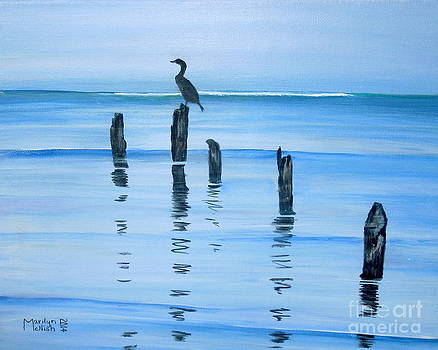 Perched at Dusk by Marilyn  McNish