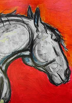 Percheron detail by Helen Scanlon