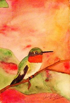 Perching Pretty by Ann Michelle Swadener