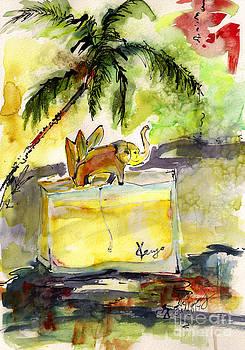 Ginette Callaway - Perfume Bottle Kenzo Jungle Elephant Still life