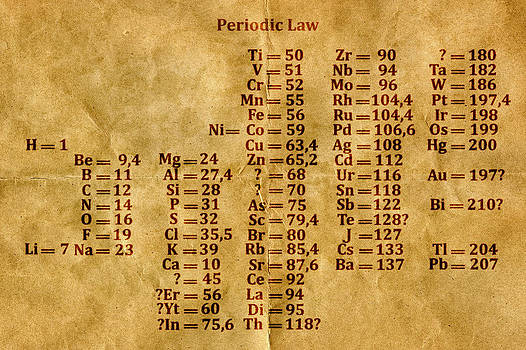 Periodic Law by Carol and Mike Werner