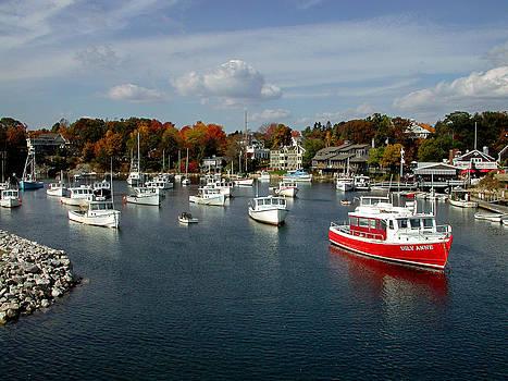 Perkins Cove Maine by Paul Bernard