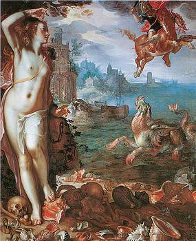 Joachim Wtewael - Perseus Rescuing Andromeda