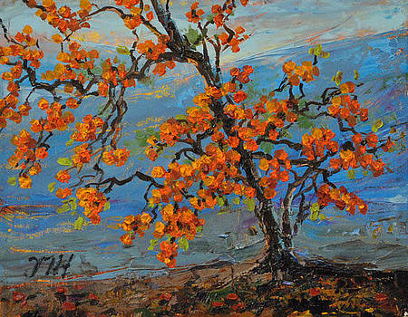 Persimmon. by Julia Utiasheva