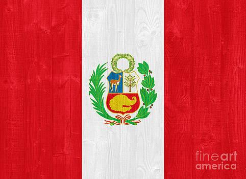 Peru flag by Luis Alvarenga