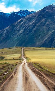 Peruvian Road by Jennifer Ansier