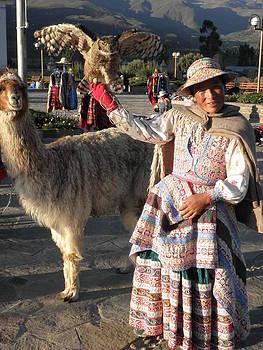 Peruvian Woman by Isabella Rocha